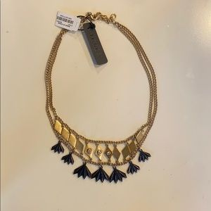 NWT J. Crew double strand statement necklace